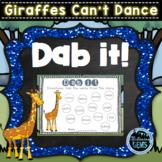 Giraffes Can't Dance - Dab It Fun: Nouns, Verbs, Adjectives, Adverbs & more