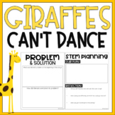 Giraffes {Can't} Dance - Growth Mindset / Book Project