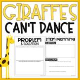 Giraffes {Can't} Dance - Growth Mindset / Book Project