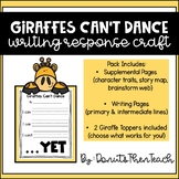 Giraffes Can't Dance Growth Mindset Craftivity
