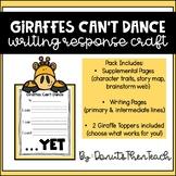 Giraffes Can't Dance Growth Mindset Craftivity