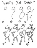 Giraffes Can't Dance- How to Draw