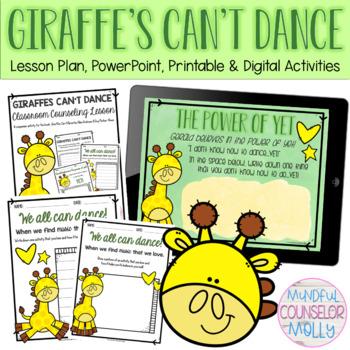 Giraffes Can't Dance Lesson Plan