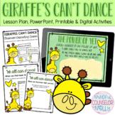 Giraffes Can't Dance Lesson, Digital & Printable Version
