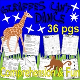 Giraffes Can't Dance : Reading Comprehension Book Companion Activity Packet Unit
