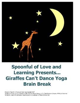 Giraffes Can't Dance Yoga Brain Break