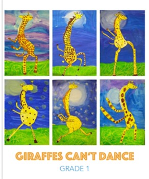 Giraffes Can't Dance Art Project & Drawing Video