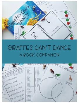 #dec2018slpmusthave Giraffes Cant Dance Book Companion