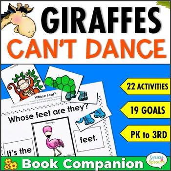 Giraffes Can't Dance Speech and Language  Book Companion