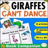 Giraffes Can't Dance Speech and Language  Book Companion