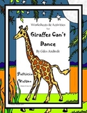 Giraffes Can't Dance Worksheets