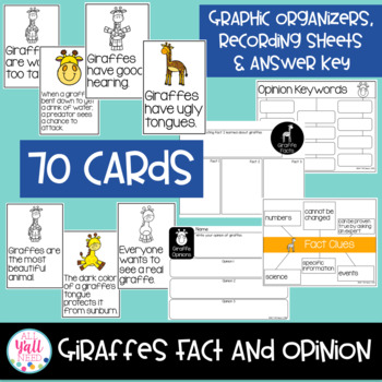 Giraffes: Fact and Opinion