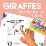 Giraffes  Freebie - STEAM, Biomimicry