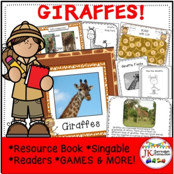 Giraffes: Let's Learn About Giraffes - Non-Fiction and Fiction Unit