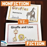 Giraffes: Animal Nonfiction Text & Fiction Text CCSS Reade