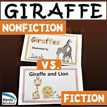 Giraffes: Animal Nonfiction Text & Fiction Text CCSS Reade