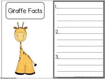 Giraffes Nonfiction/Fiction literature