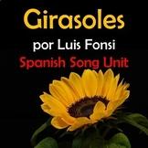 Girasoles Spanish Song Unit - Luis Fonsi - Coronavirus - F