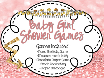 Girl Baby Shower Games