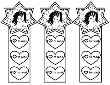 Girl Bookmarks
