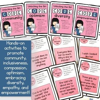 Girl CODE Girls Group Counseling Program for Positive Girl Relationships