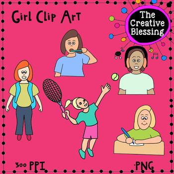 Girl Clip Art