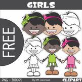 Girl Clip Art - FREE