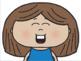 Girl Emoji Faces/Emotions