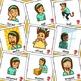 Girl Emotion Feelings Cards - Boardmaker Teen Visual Aids