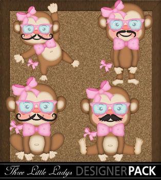 Girl Monkeys in Disguise