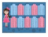 Girl Multiplication Table