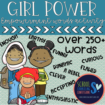 Girl Power - Girl Empowerment Lesson