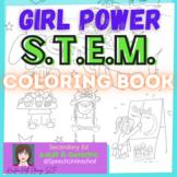 Girl Power STEM Coloring Book