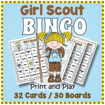 Girl Scout BINGO