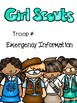 Girl Scout Binder Covers