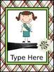 Girl Scout Editable Binder/Calendar Set