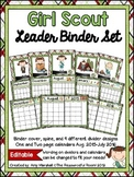 Girl Scout Editable Binder/Calendar Set