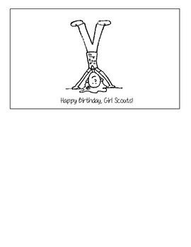Girl Scout Birthday Reader