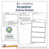 Brownie Girl Scout Inventor Activity Booklet