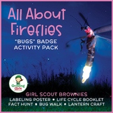 """Girl Scout Brownies - """"Bugs"""" Complete Badge Pack - Includes All 5 Steps!"""