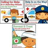 """Girl Scout Brownies - """"First Aid"""" Activity Pack Bundle - All 5 Steps!"""