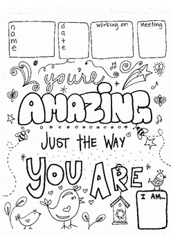 Girl Scout Coloring Worksheets for Meetings