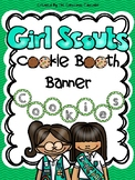 Girl Scout Cookie Booth Banner