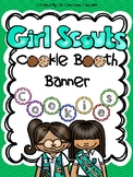 Girl Scout Cookie Booth Banner-Rainbow