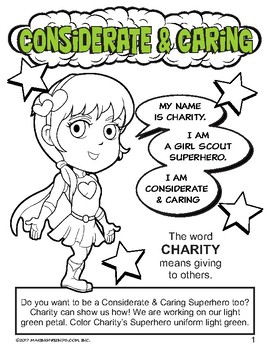 "Girl Scout Daisy ""Considerate & Caring"" Petal Download"