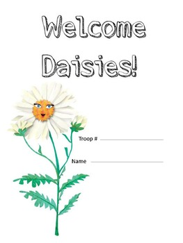 Girl Scout Daisy Notebook