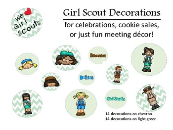 Girl Scout Decorations
