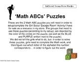 Girl Scout Escape Room Puzzles (Detective Badge)