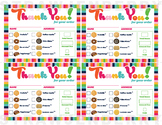 Cookie Thank You Receipt LBB Printable Download Girl Scout
