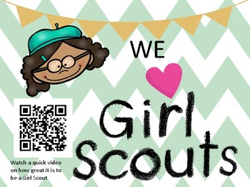 Girl Scout Intro Video for new or returning kiddos